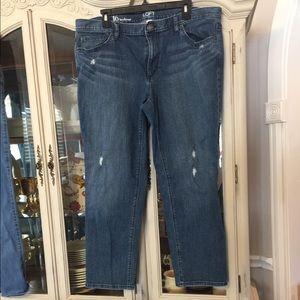 Ann Taylor Loft denim Boyfriend Jeans 16